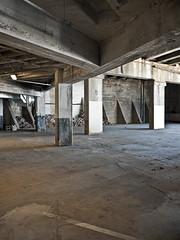 SEG Parking (ken mccown) Tags: loft concrete downtown knoxville tennessee garage southeasternglassbuilding