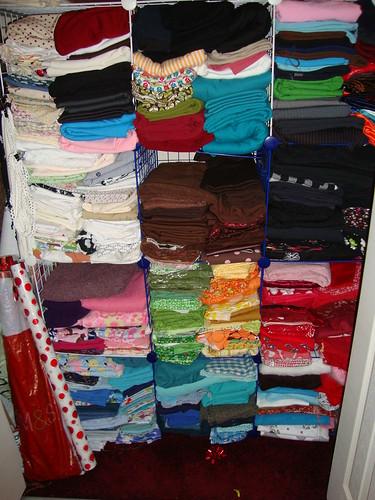 fabric stash closet #1