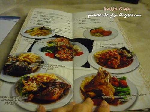Kaffa Kafe menu 02