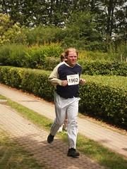 Sven läuft beim Hohenschönhausener Gartenlauf