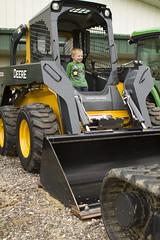 IMG_0711 (Nick.Owens) Tags: tractor simon john combine steer deere harvester dealer skid excavator