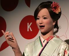 Discussion (Aaron Webb) Tags: japan robot washingtondc dc kennedycenter kokoro actroid actroidder2 kokoroactroidder2