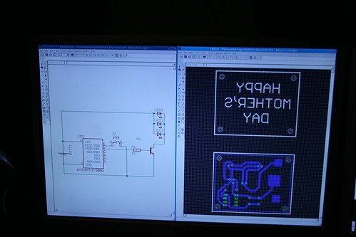 Making PCBs at home, Step 1: Design