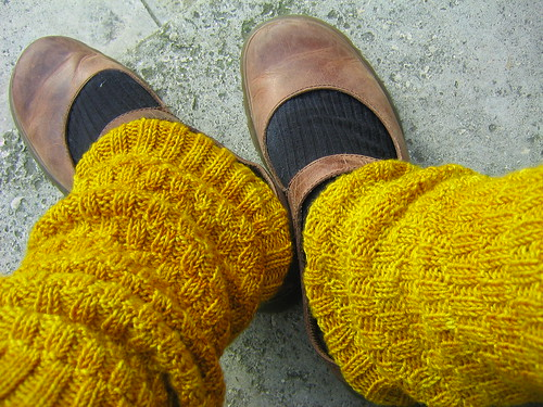 yellow brick road legwarmers