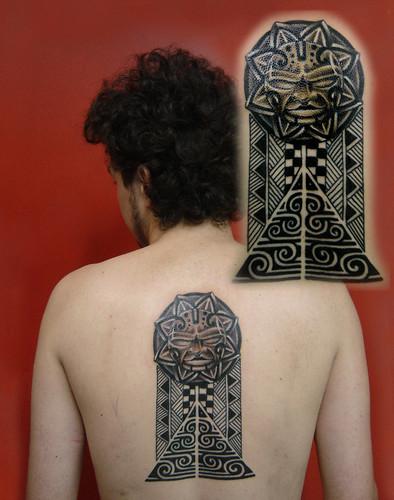 tattoo polinesian. Polinesian tattoo