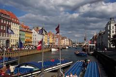 Nyhavn (paulafunnell) Tags: copenhagen boats nyhavn canal