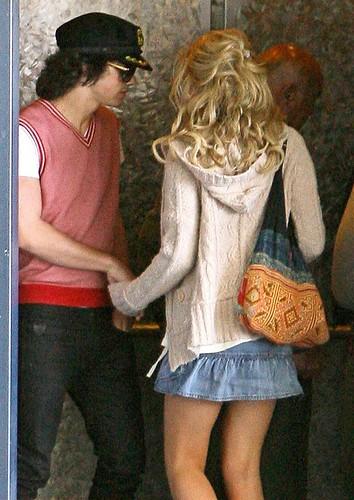 chelsea staub hair. Joe Jonas and Chelsea Staub