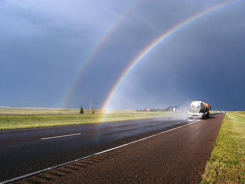 I-80 Double Rainbow