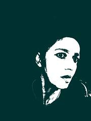GREEN (Siri Chandra) Tags: music selfportrait reflection green me necklace loneliness shades multicolor multicolour waitingforthesun snub idontknow verygreen beautymask whiteclayandhoney