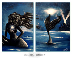The Little Mermaid ... (Bally AlGharabally) Tags: ariel artist photographer little designer disney painter 1989 mermaid rai kuwaiti bally gharabally algharabally