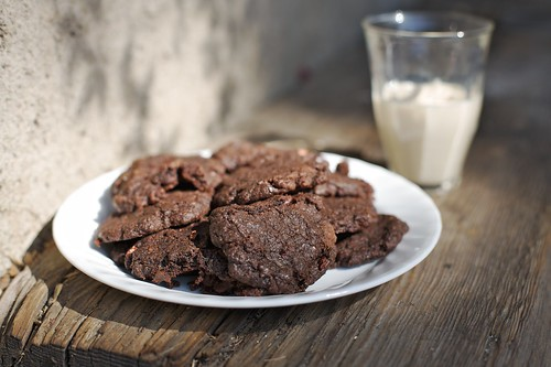 Meghan's Vegan Triple Chocolate Death Cookies