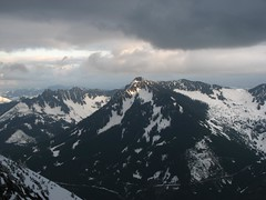 Darkness and light over McClellan Butte