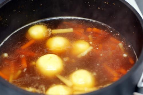 semolina dumpling soup | smitten kitchen