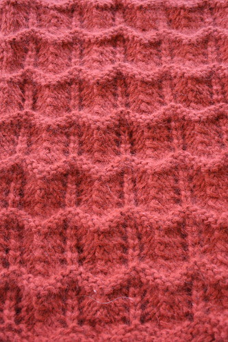 Ridged Lace Cowl