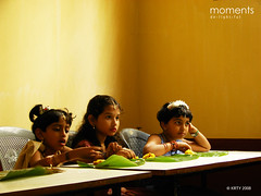 Kids at a Wedding Dining