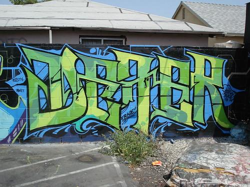 Defer K2S STN LosAngeles Graffiti Art