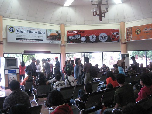 Sentani Airport waiting lounge