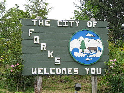 Forks Sign by djonesgirlz.