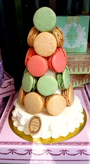 Laduree Macaron CAke (babushka bakery) Tags: travel inspiration paris pastries quinceaneras stylemepretty babushkabakery saraneckibroscatering chicagoweddings