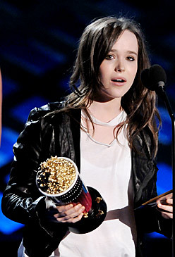 Ellen Page gana Mtv movie 2008