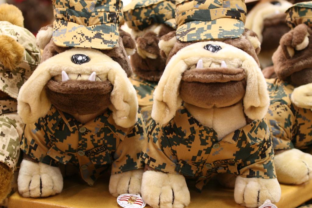 USMC Plush Toy - Devil Dog