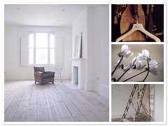 pale spareroom - my wish 'walk in closet' (honeypieLiving) Tags: wood light brown white inspiration leather collage vintage thankyou assemblage mosaic details ladder pure moodboard whitewash fotografi vitt inredning enkelt blackdogdesigns thriftinggirl honeypieliving starworksblogstorage thebeachstudios palespareroommywishwalkincloset ihangmydenimsonthem