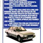 Peugeot 505 Advert