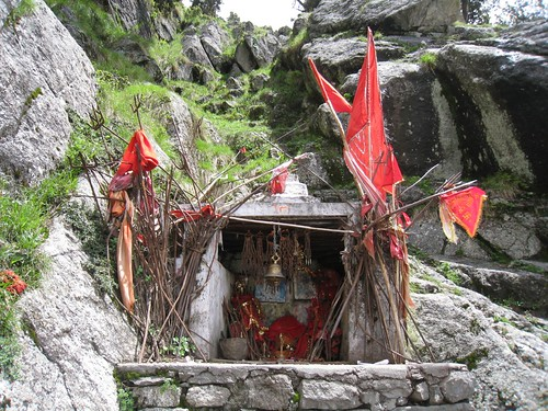 A Hindu Temple on the trail