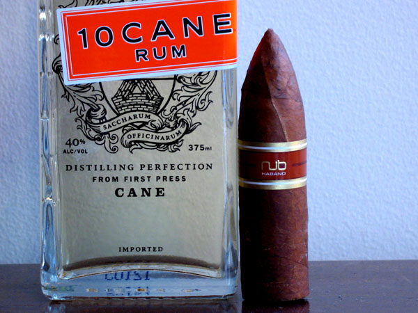 nub cigar 10 Cane Rum