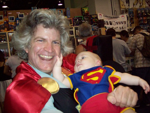 Granny Goodness and Superbaby at Wizard World Chicago 2008