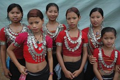 Girls from Tripura (Vasu..) Tags: girls lady dancers spicmacay kohima