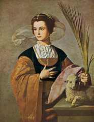 Saint Agnes (clarkvr) Tags: world art saint germany palms war destr