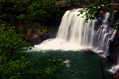 I Miss Waterfall Season (the waterfallhunter) Tags: d50 river little dekalbcounty fortpaynealabama littleriverfalls littlerivernationalpreserve fallslittle exposurenikon canyonlong