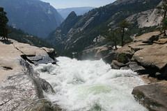 Top of Nevada Falls
