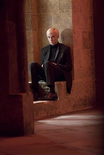 Harry Potter y el misterio del príncipe, Draco Malfoy pensativo