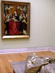 Jan Fabre au Louvre - L'Ange de la métamorphose (eraritjaritjaka) Tags: paris art museum jan louvre ange musée fabre nord ecole peintures parigi métamorphose salles