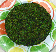 Sun-dried basil - one pound = 2/3 cup