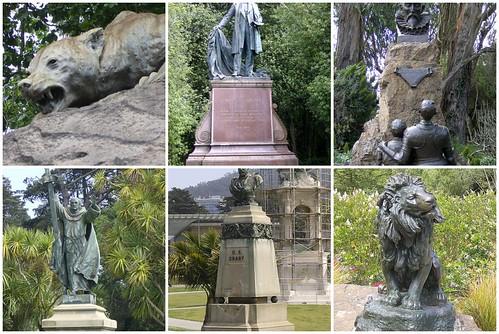 GG Park Statues Mosaic