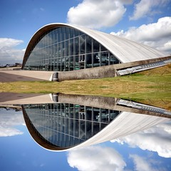 Duxford American Museum Hanger - The wink of an eye (Heaven`s Gate (John)) Tags: cambridge england reflection art history topf25 museum architecture aircraft aviation creative dramatic architect normanfoster duxford imagination hanger americanairmuseum imperialwarmuseum 50faves 10faves 25faves johndalkin heavensgatejohn wowiekazowie winkofaneye