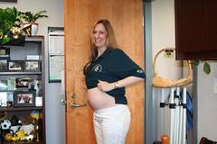 IMG_0090 (drjeeeol) Tags: jill pregnancy pregnant belly triplets 1812weeks