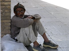 Oldman at Bastam (Mehdi Kavousian) Tags: poverty street look glasses iran oldman  poeple    bastam   shahroud