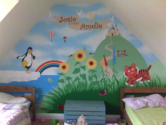 Mural in the Small Girls Room