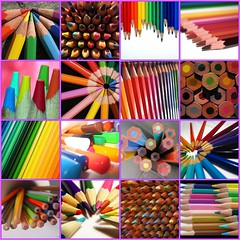 Solo matite colorate (..:*  *:..) Tags: pencil pencils rainbow fdsflickrtoys drawing mosaico tools passion instruments coloured arcobaleno matita disegno mania legno castell faber matite disegnare strumenti dache artisticexpression colorate caran pastelli abigfave