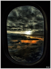 Window Seat (Prof EuLOGist) Tags: ocean sunset window weather clouds island photography view spirit d aircraft seat aviation indian bad aeroplane service maldives climate jinan hussain