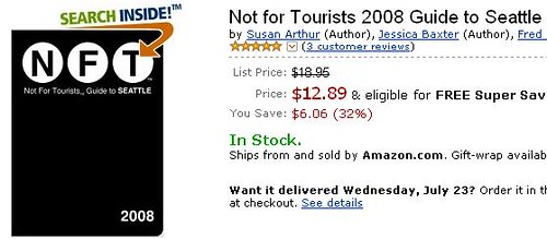 not for tourists book