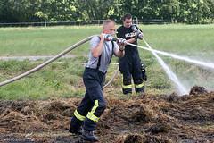Strohballenbrand Kloppenheim 21.07.08