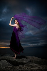 Sarah (jwielf) Tags: toronto black sarah waterfront dress purple tulle sarahv
