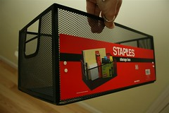 staples container
