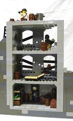 Outpost 19 (-Pendragon-) Tags: post lego apocalypse apoc brickarms pickingupthepiecesapocalegocontest