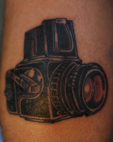 Camera Tattoo Outline